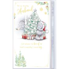 Amazing Husband Luxury Me to You Bear Christmas Card