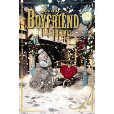 3D Holographic Boyfriend Me to You Bear Christmas Card