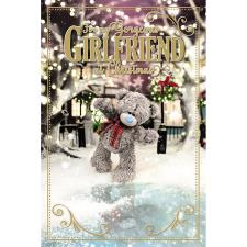 3D Holographic Gorgeous Girlfriend Me to You Bear Christmas Card