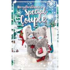 3D Holographic Special Couple Me to You Bear Christmas Card