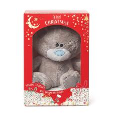 "4"" My First Christmas Tiny Tatty Teddy Boxed Me to You Bear"