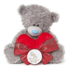 "12"" Padded Heart & Bow Me to You Bear"