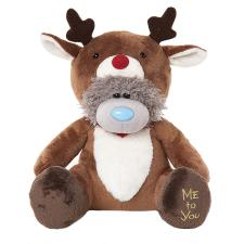 "10"" Dressed As Reindeer Onesie Me to You Bear"