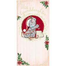 Special Granddaughter Me to You Bear Christmas Money Wallet