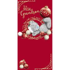 Special Grandson Me to You Bear Christmas Money Wallet