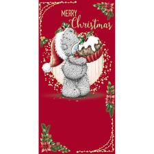 Tatty Teddy Holding Mince Pie Me to You Bear Christmas Money Wallet