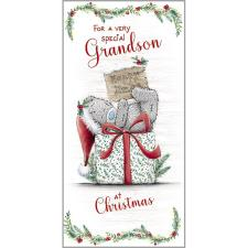 Grandson Me To You Bear Christmas Gift / Money Wallet