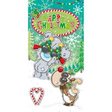 Festive Glasses My Dinky Bear Me to You Christmas Gift / Money Wallet