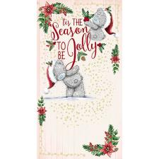 Season To Be Jolly Me To You Bear Christmas Card