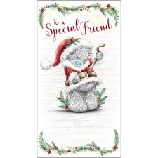 Special Friend Me to You Bear Christmas Card