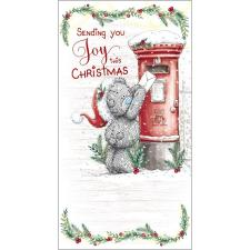 Tatty Teddy Posting Letter Me to You Bear Christmas Card