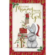 Mummy From Your Little Girl Me To You Bear Christmas Card