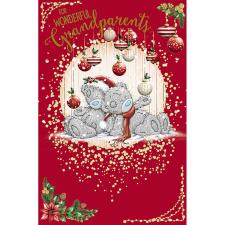 Wonderful Grandparents Me To You Bear Christmas Card