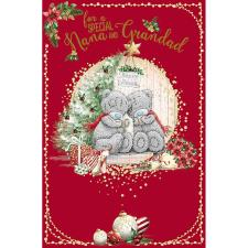 Special Nana & Grandad Me To You Bear Christmas Card