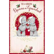 Nanna & Grandad Me To You Bear Christmas Card