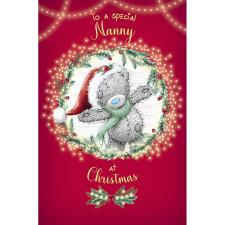 Special Nanny Me to You Bear Christmas Card