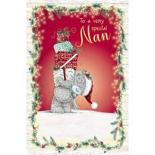 Special Nan Me to You Bear Christmas Card