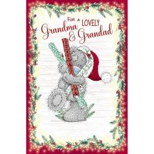 Lovely Grandma & Grandad Me to You Bear Christmas Card