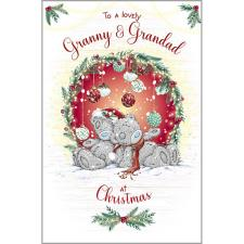 Lovely Granny & Grandad Me to You Bear Christmas Card