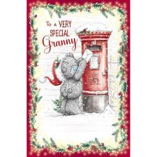 Special Granny Me to You Bear Christmas Card