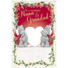 Nana & Grandad Me to You Bear Christmas Card