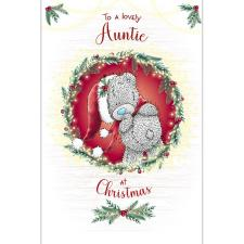 Lovely Auntie Me to You Bear Christmas Card