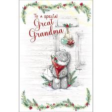 Great Grandma Me to You Bear Christmas Card