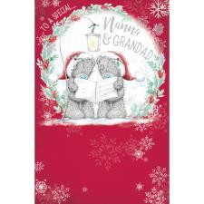 Special Nanna & Grandad Me to You Bear Christmas Card
