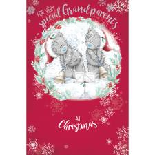 Very Special Grandparents Me to You Bear Christmas Card