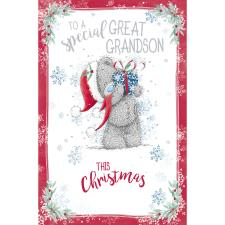 Special Great Grandson Me to You Bear Christmas Card