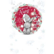 Special Aunt Me to You Bear Christmas Card