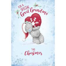 Special Great Grandma Me to You Bear Christmas Card