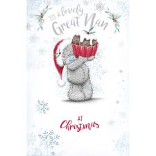 Lovely Great Nan Me to You Bear Christmas Card