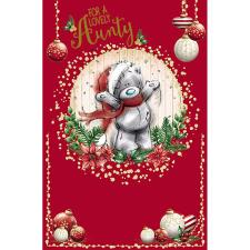 Lovely Aunty Me To You Bear Christmas Card