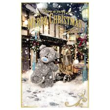 Merry Christmas Photo Finish Me To You Bear Christmas Card