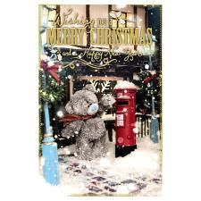 Merry Christmas & New Year Photo Finish Me To You Bear Christmas Card