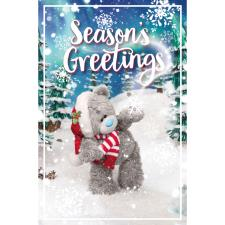 Seasons Greetings Photo Finish Me to You Bear Christmas Card