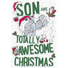Son My Dinky Me To You Bear Christmas Card