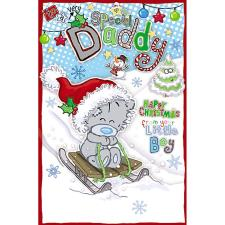 Daddy From Little Boy My Dinky Me to You Bear Christmas Card