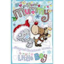 Mummy From Little Boy My Dinky Me to You Bear Christmas Card