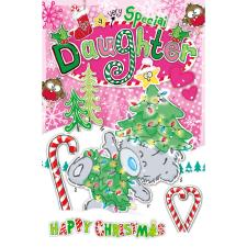 Special Daughter My Dinky Bear Me to You Bear Christmas Card