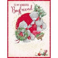 Wonderful Boyfriend Large Me to You Bear Christmas Card