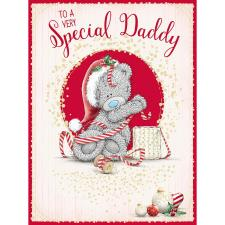 Special Daddy Large Me To You Bear Christmas Card