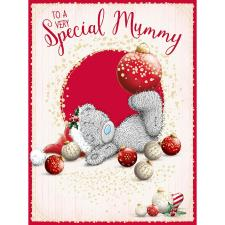 Special Mummy Large Me To You Bear Christmas Card
