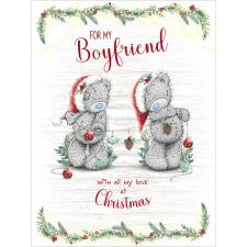 Boyfriend Large Me to You Bear Christmas Card