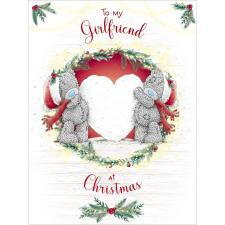 Girlfriend Large Me to You Bear Christmas Card