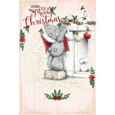 Tatty Teddy Hanging Stocking Me To You Bear Christmas Card