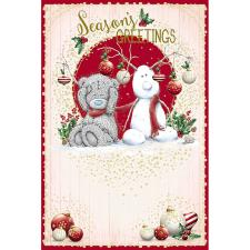Seasons Greetings Me To You Bear Christmas Card