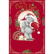 One I Love Hugging Bears Me To You Bear Christmas Card