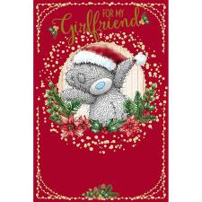 For My Girlfriend Me To You Bear Christmas Card